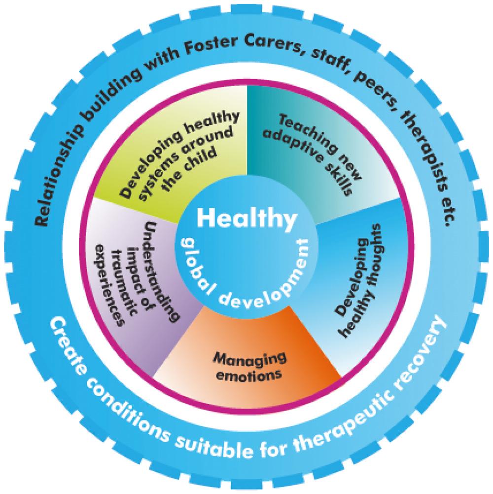The Kites Children Services Trauma Wheel