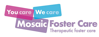 Mosaic Foster Care Essex and Suffolk Logo 2020